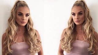 Tutorial: Ariana Style Half Pony With LullaBellz Hair Extensions | LULLABELLZTV