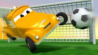 Футбол - Эвакуатор Том в Автомобильный Город  🚗 детский мультфильм