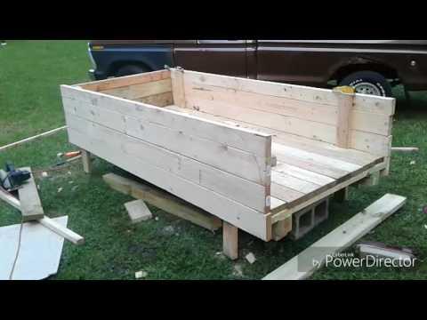 Wooden Truck Bed Build Part 1