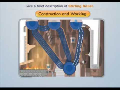 Construction and Working of Stirling Boiler - Magic Marks - YouTube