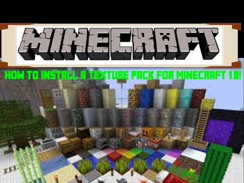 How to Install a Texture Pack for Minecraft 1.8 on a Mac! HD - YouTube