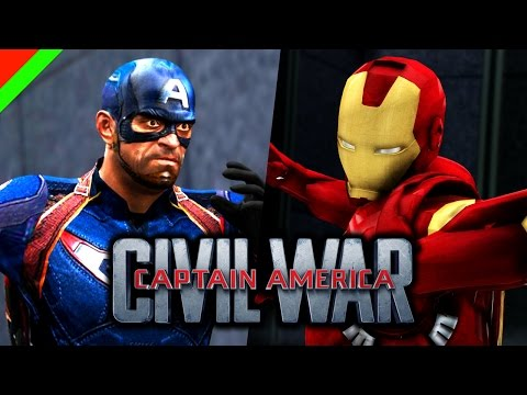 Captain America: Civil War  - Grand Theft Auto V (GTA V Mod,ตลก,ฮา)
