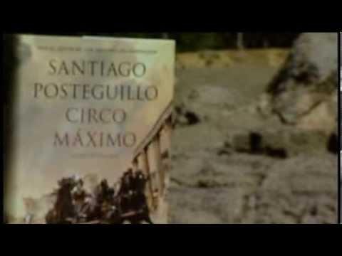 """antena-3-tv.-video-marino-holgado.-santiago-posteguillo-presenta-""""circo-máximo"""".-16-09-13"""