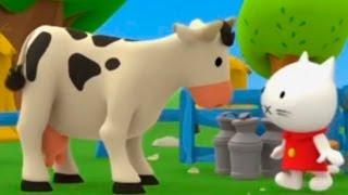 Мультики Детям - Мусти - На ферме