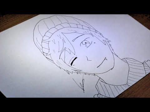 How I Draw Anime Vampire Teen Speed Draw Youtube