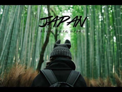 Travel Diary: Japan // Kyoto, Nara, Osaka (2016)