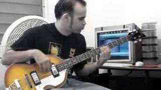 Gualbert Menéndez Bobby Valentín Copas de Soledad Bass Cover