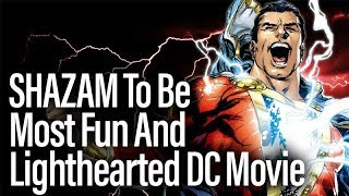 Director: SHAZAM To Be Most Fun And Lighthearted Of The DC Movies thumbnail