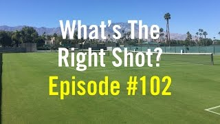 Tennis Doubles Strategy - Whats The Right Shot? #102