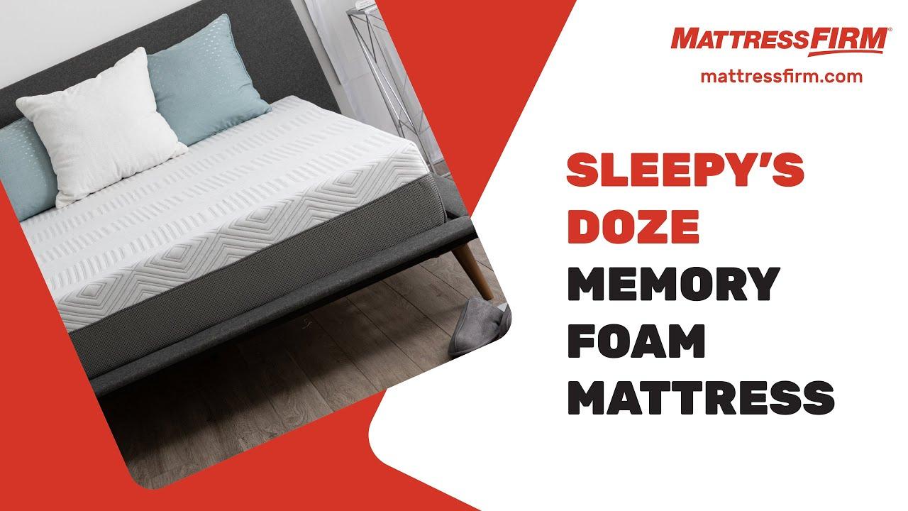 sleepy s doze memory foam mattress
