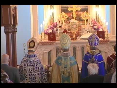 ARAM 1st Armenian Catholicos of Cilicia Pontifical Liturgy