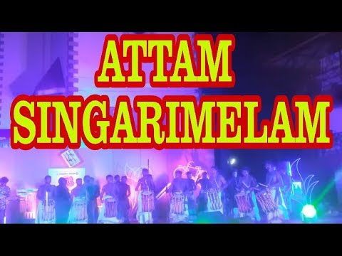 SINGARIMELAM FUSION.| Attam SingariMelam  REMIX Performance with  WESTERN INSTRUMENTS.(2017 DEC)