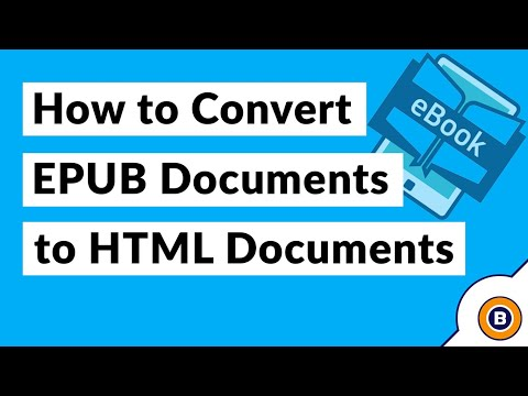 How To Convert EPUB To HTML And Open EBook Files In Web Browser