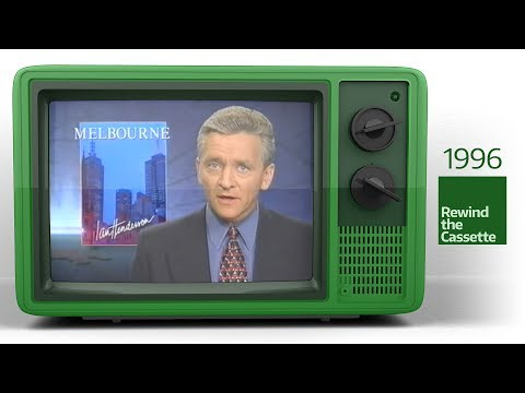 ABC Victoria - On-Air Presentation and 7:00PM News Opener (December 1996)
