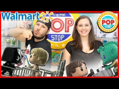 WALMART Funko POP Shopping Haul! Star Wars, Gaurdians of the Galaxy, & more!