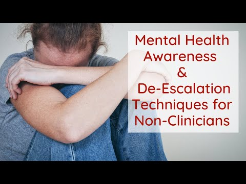 Mental Health Awareness and DeEscalation: PACER Integrative Behavioral Health