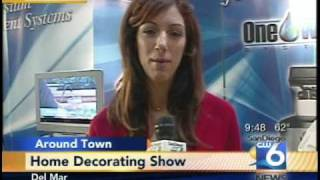 one water systems home show interview san diego cw6