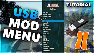 Hd usb no jailbreak/jtag bo2 mod menu usb