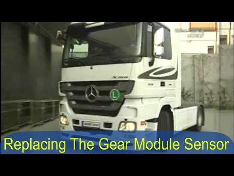 Mercedes Benz Actros | Replace gear sensor