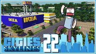 Cities Skylines - Ep.22 : Small Commercial District