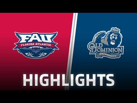 Highlights: Florida Atlantic at Old Dominion