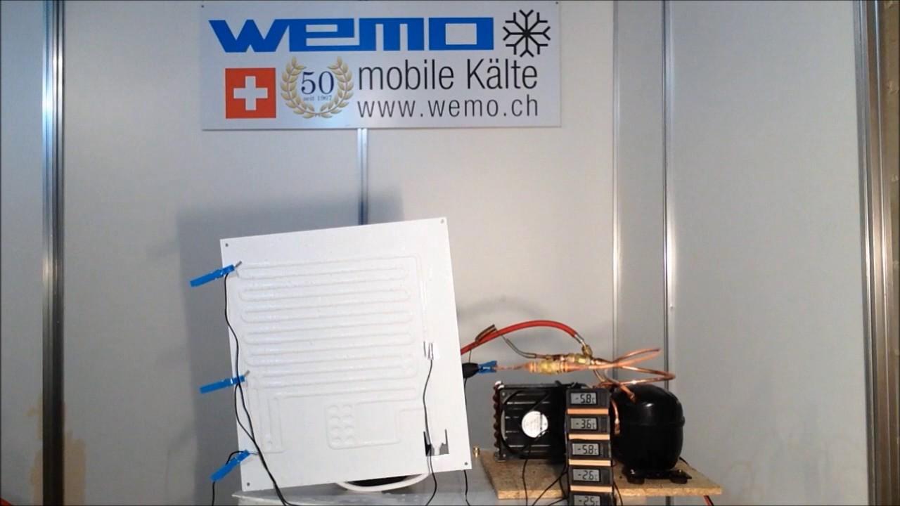 WEMO Kältemittelmangel I Deutsch / Kühlschrank Boot Wohnwagen mobil ...
