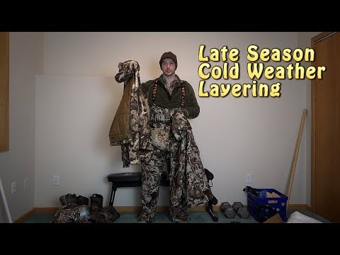 Late Season Layering System - Extreme Cold