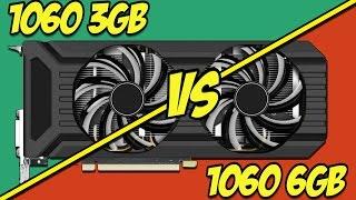 Тест сравнение Palit GTX 1060 3Gb и Palit GTX 6Gb и немного размышлений.