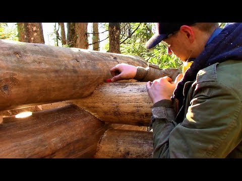 Saddle Notching & Bunkhouse Living / Log Cabin Update- Ep 10.15