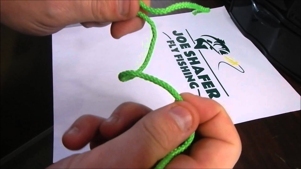 Fly Fishing Basic Knots  How To Tie A Uni Knot Or Duncan Loop  Part 3
