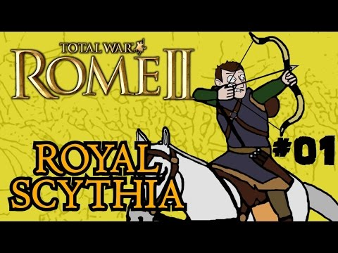Total War: Rome 2 - Royal Scythian Campaign - Part One - Learning the Ropes!