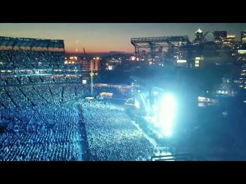 Pearl Jam- Even Flow with Seattle sunset. The Home Shows Aug 10 2018. Save the Showbox