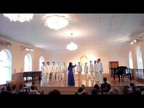 Мужской камерный  хор НУК ДКА Комсомольска -на-Амуре - Не плачьте над трупами