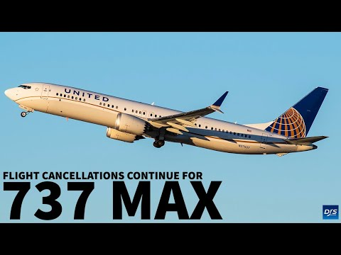 Boeing 737 MAX Flight Cancellations