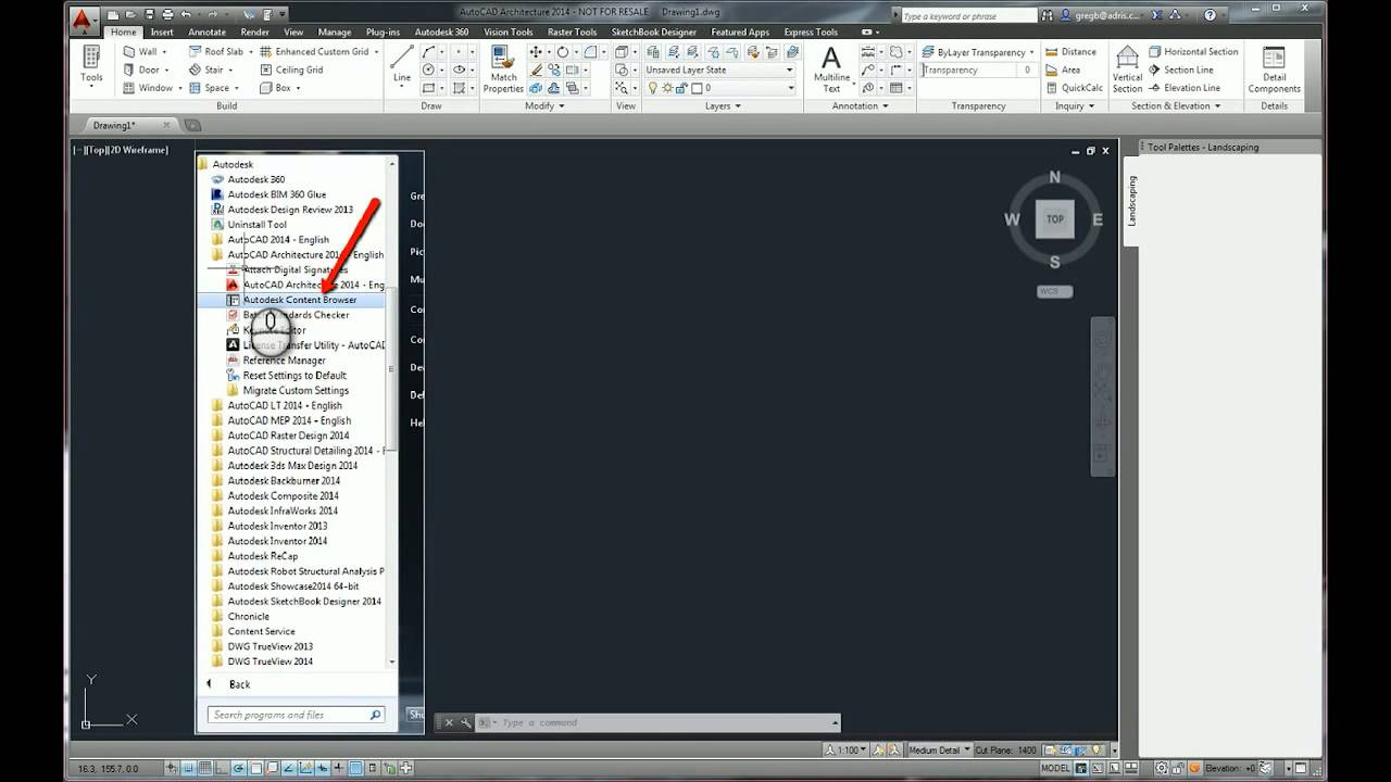 How To Organise Content Using Autocad Content Browser