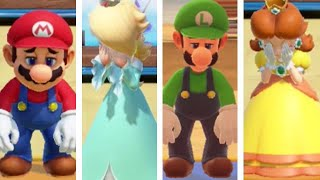 Super Mario Party - All Character Clear & Fail Animations (Challenge Road)