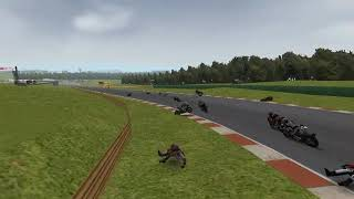 SBK 2009 GAMEPLAY CRASH COMPILATION