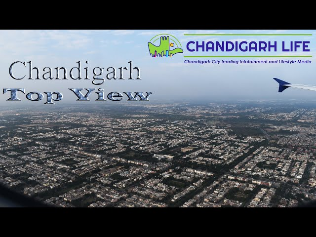 Chandigarh drone shot Top View