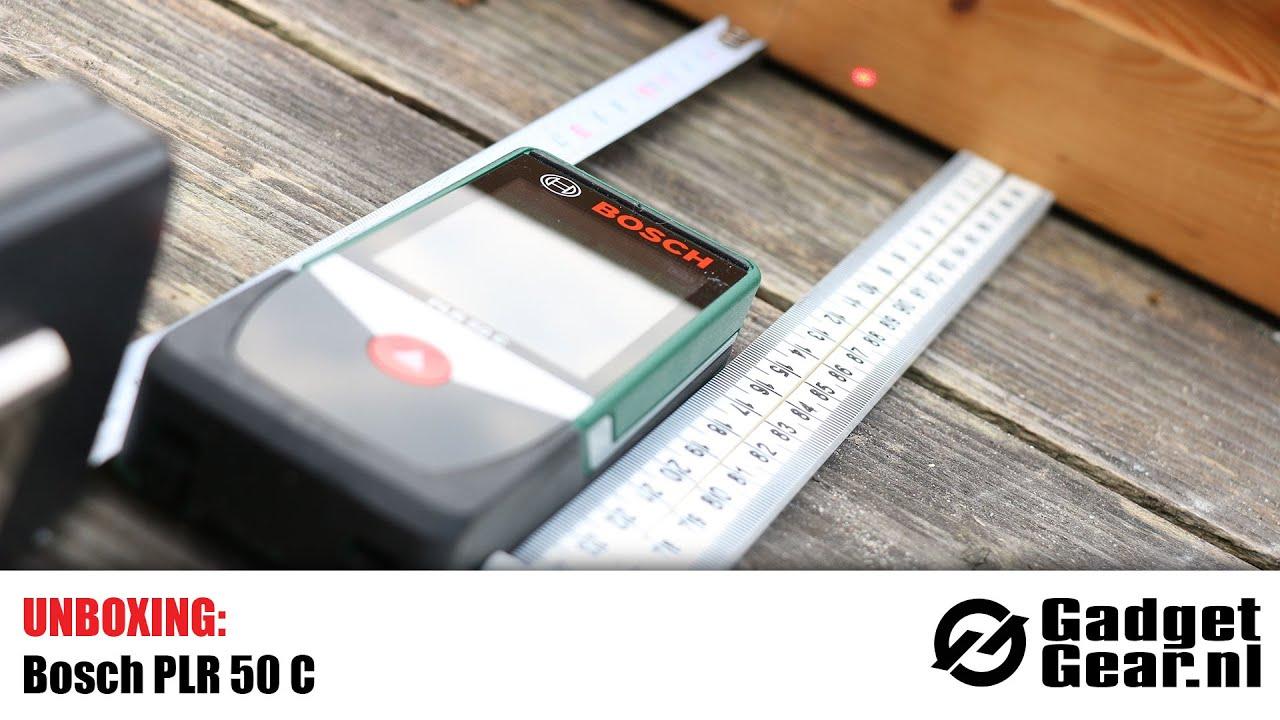 Bosch Laser Entfernungsmesser Plr 50 C : Unboxing bosch plr c youtube