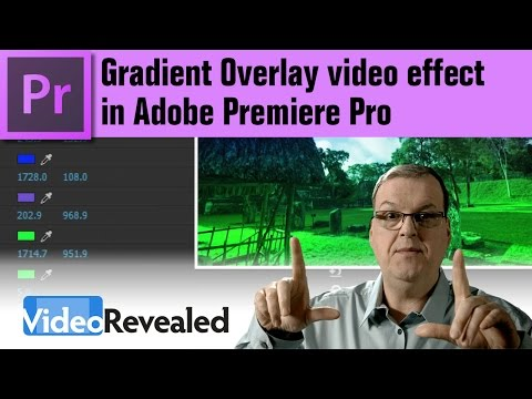 Gradient Overlay video effects in Adobe Premiere Pro