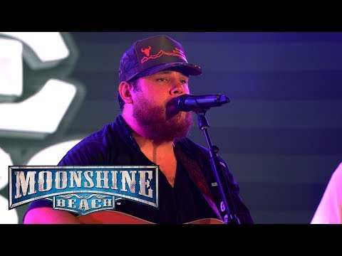Luke Combs Performs LIVE in San Diego at Moonshine Beach