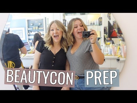 Weekend in LA & Prepping for Beautycon! thumbnail