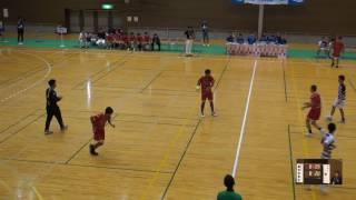 5日 ハンドボール男子 福島市西部体育館Eコート 國學院大學栃木×県立境 1回戦 後半