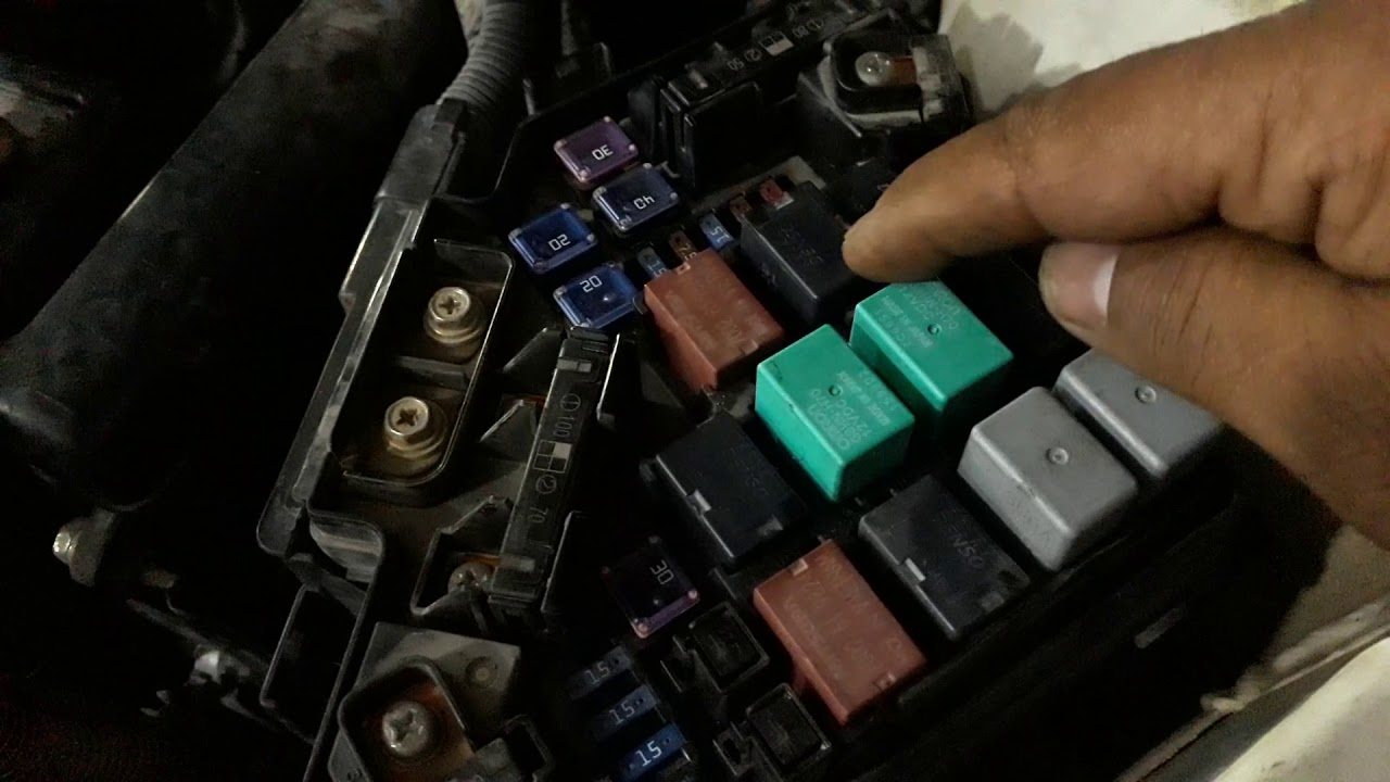 honda crv 2010 etcs relay circuit off malfunction relay location  [ 1280 x 720 Pixel ]