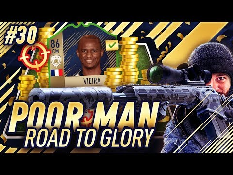 OMG CRAZY NEW SQUAD!!! WE SNIPED ICON VIEIRA!!!! - Poor Man RTG #30 - FIFA 18 Ultimate Team