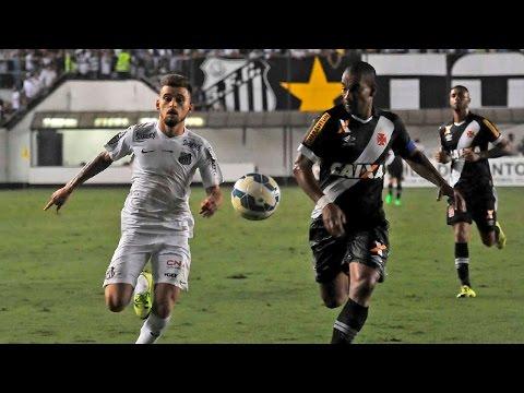 Santos 1 x 0 Vasco | MELHORES MOMENTOS | Brasileirão (12/08/15)