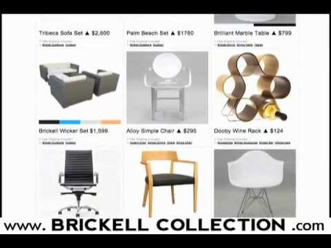 How to Live Modern with Brickell Collection | Contemporary Modern Furniture for the Culture.