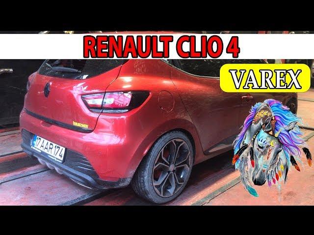 RENAULT CLIO 4 KUMANDALI EGZOZ SESİ