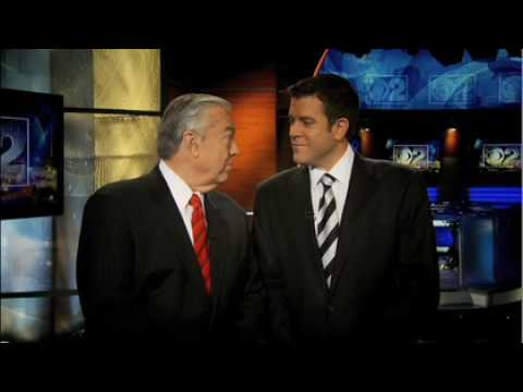 Bill Kurtis and Walter Jacobson fiill in for Rob Johnson on CBS 2 News at 10 Tonight Only