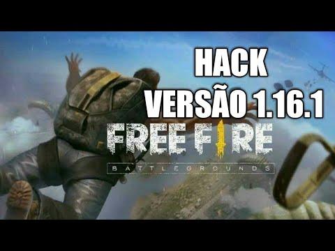 HACKER FREE FIRE VERSÃO 1.16.1 OFICIAL DANOS, ANTI BAN, GRAMA REMOVIDA MOD AMBOIT ETC!